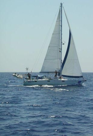 This was my boat that I sailed around the world from 1998 - 2002