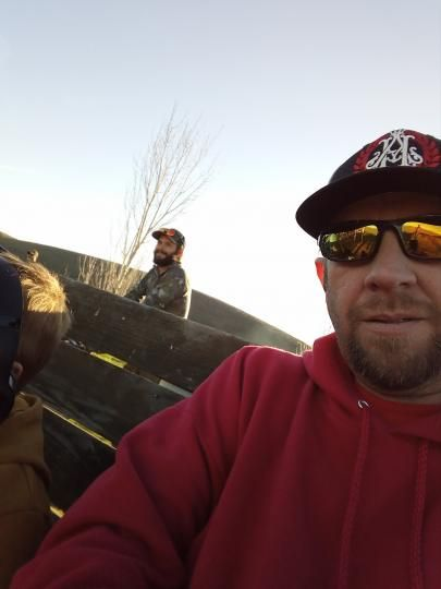 Beautiful day at the gun range filming another music video got to love them good ole boys