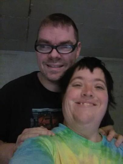 me and my wife jessica