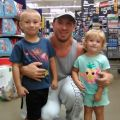 My kids (Blake and Sierra) and myself :)