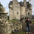 At peace in a Highland Castle