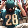 Old School Fred Taylor jersey with my Jags SnapBack on! this picture is from September I think of this year.